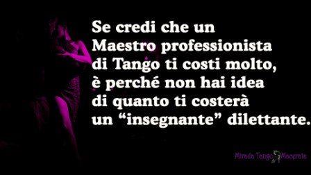 Tango Maestro o Insegnante Tango?